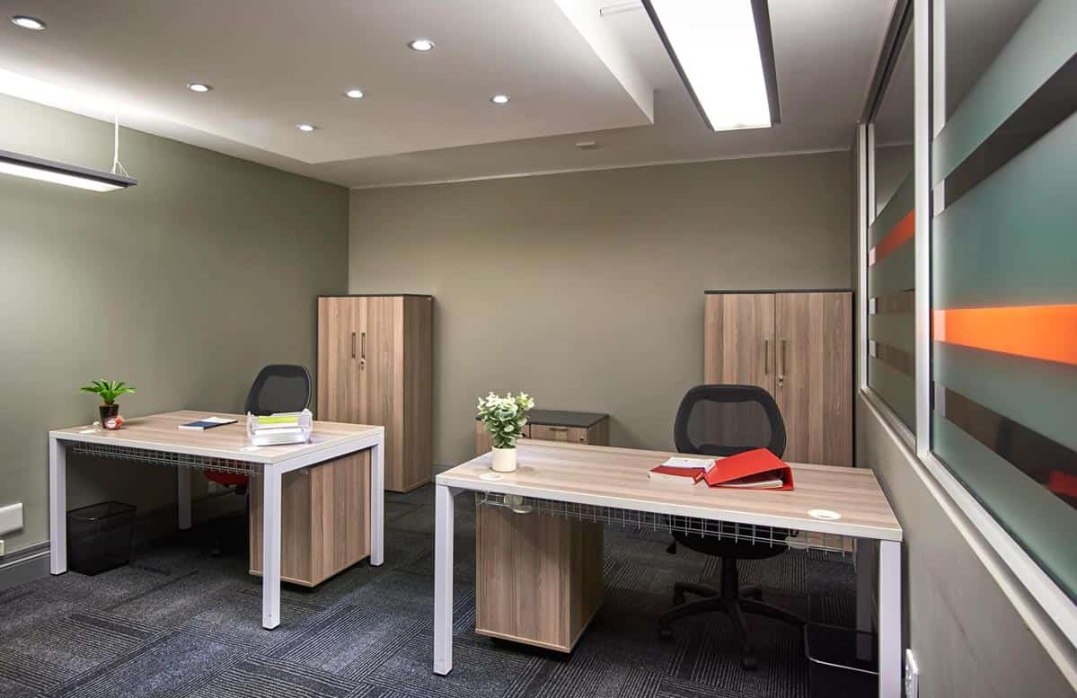 serviced office space at the workspace