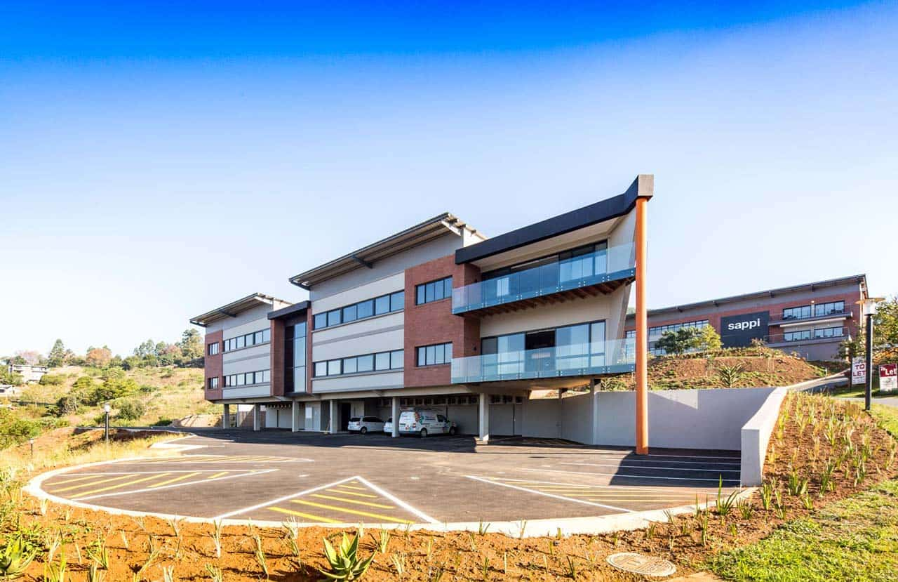 the workspace pietermaritzburg building parking