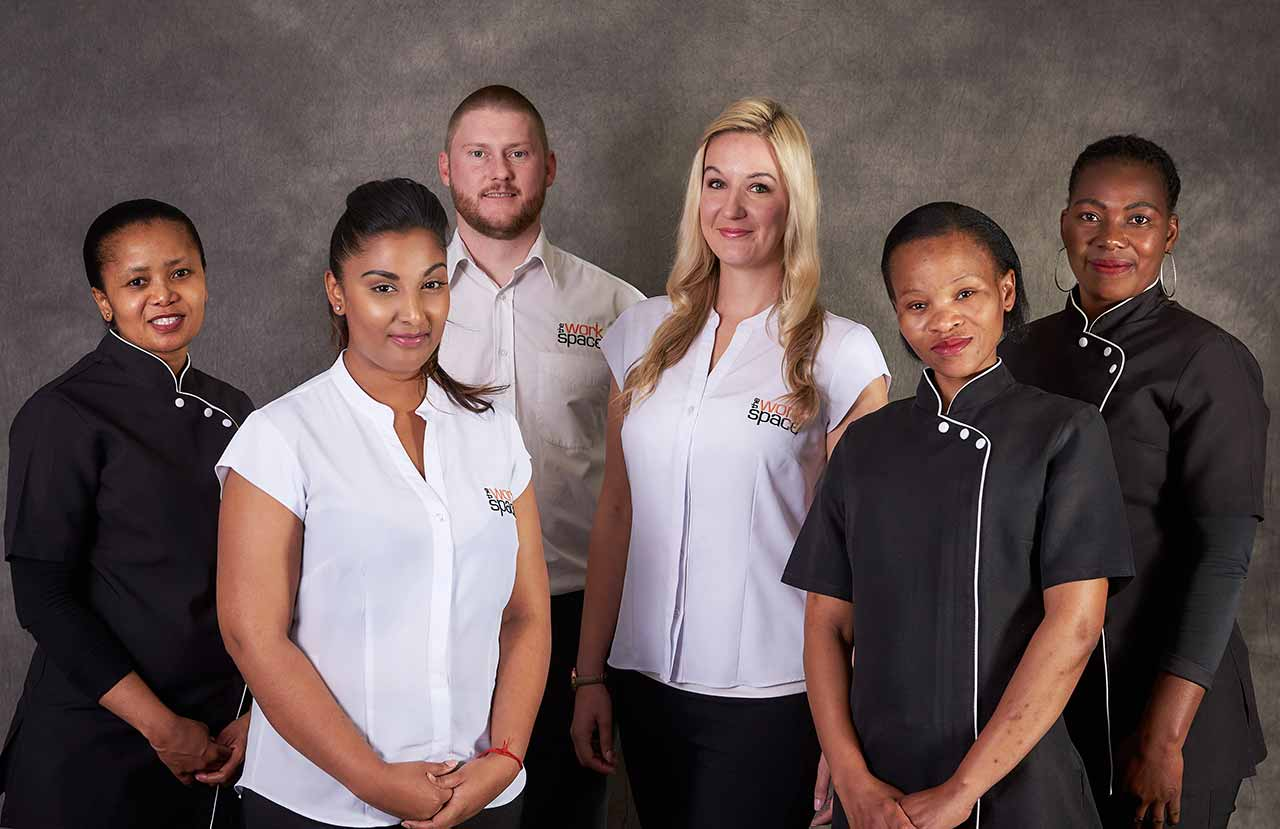 Staff at The Workspace Melrose Arch
