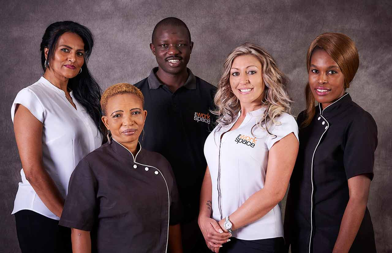 The staff at The Workspace Sunninghill