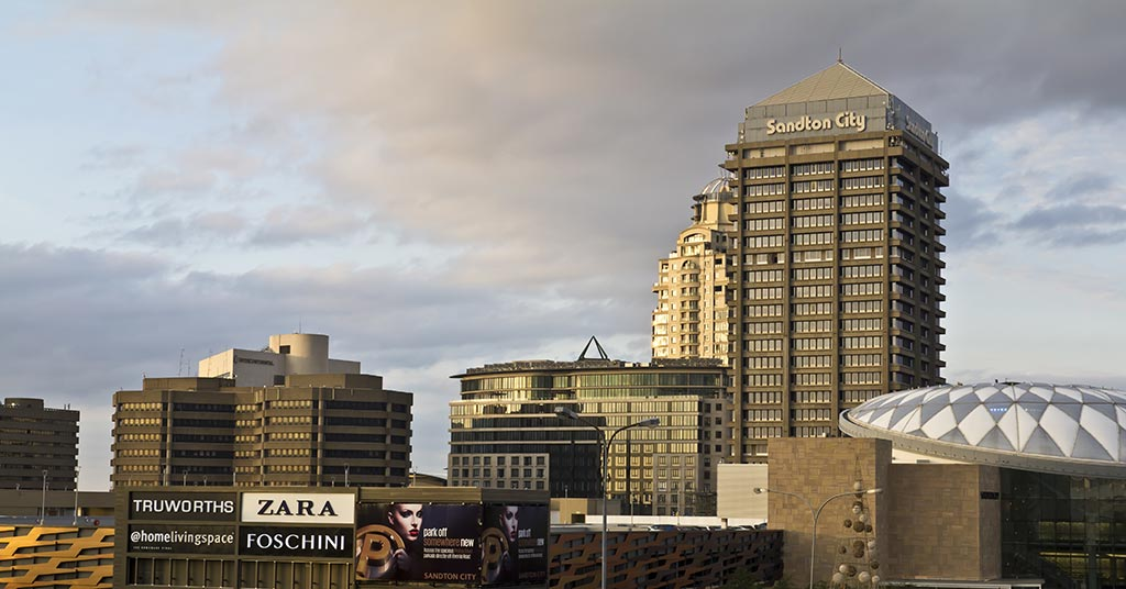 Sandton in Johannesburg
