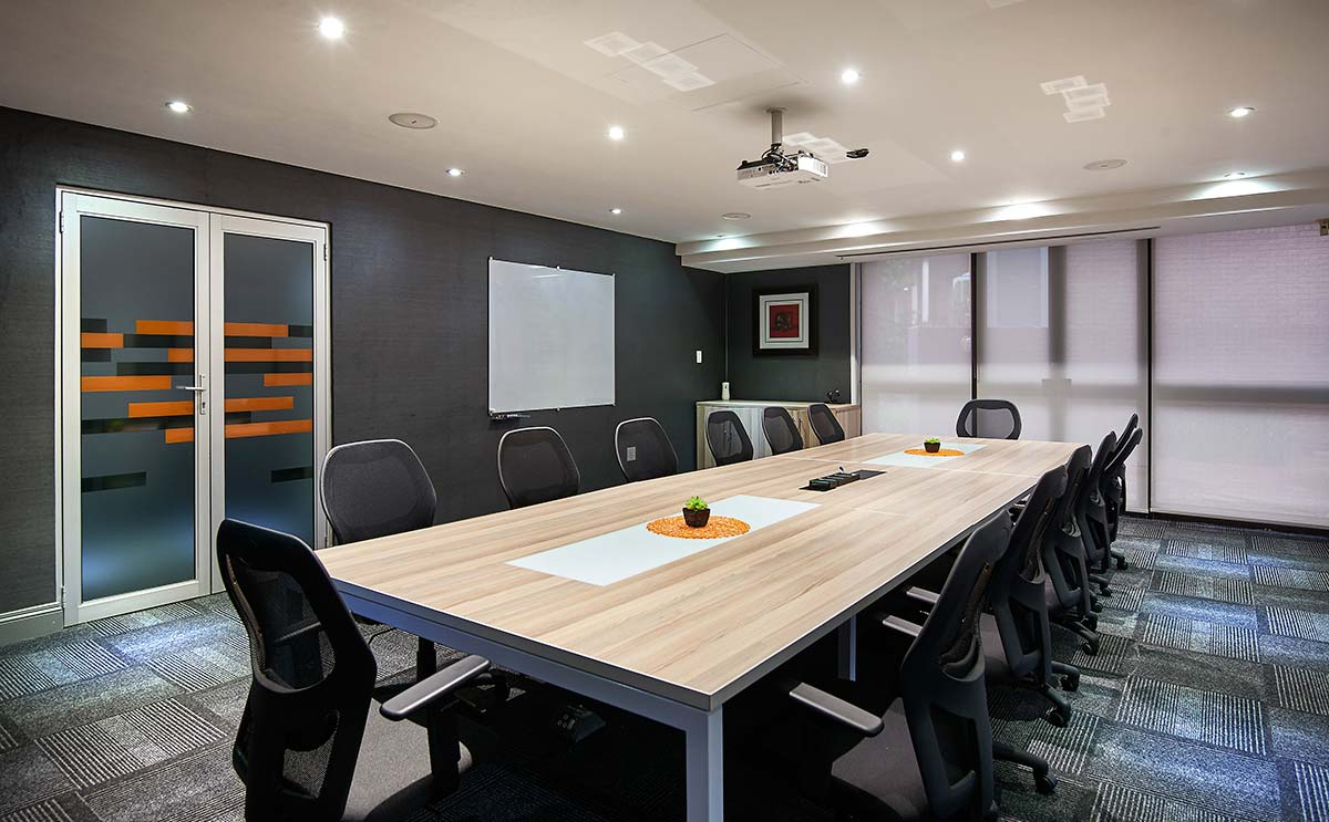 the workspace boardroom