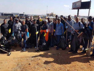 XtraSpace Self Storage, The Workspace and SpaceBox Take to the Streets on Mandela Day