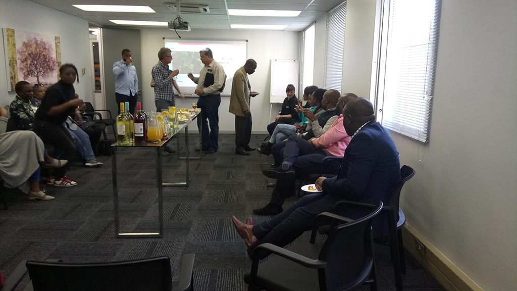 the workspace midrand networking event