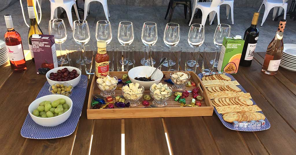the workspace randburg networking event food