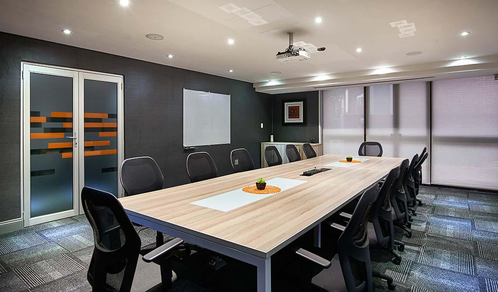 boardroom at the workspace