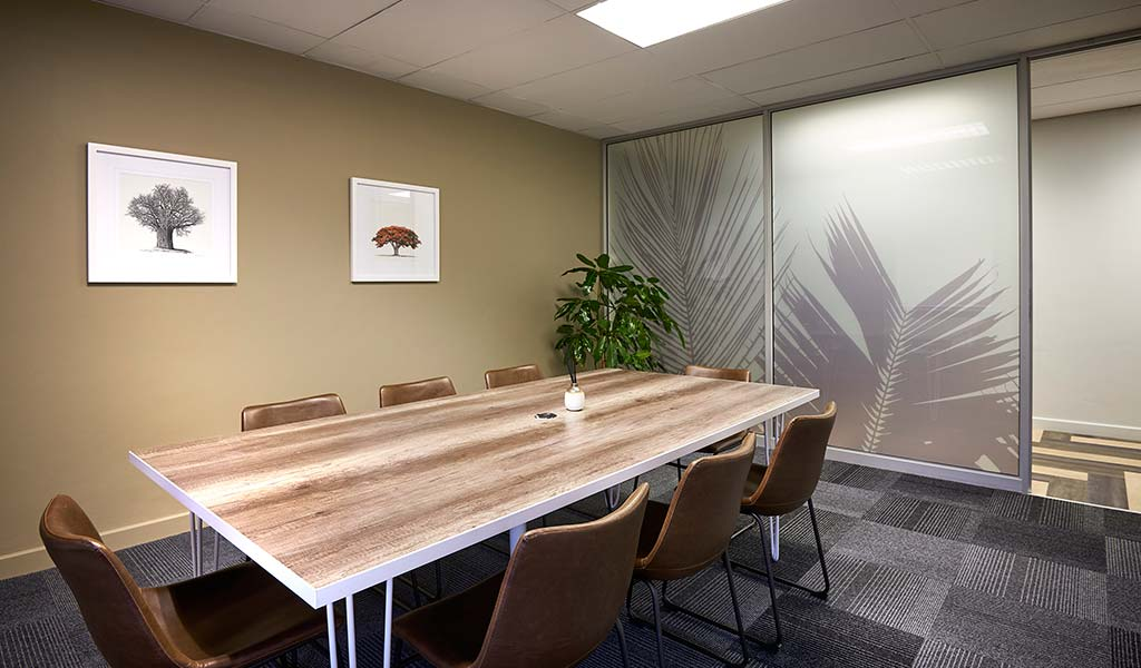 meeting room at the workspace
