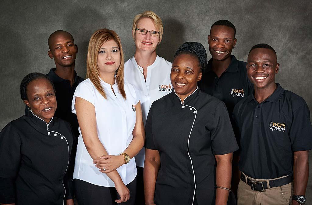 the workspace service team staff