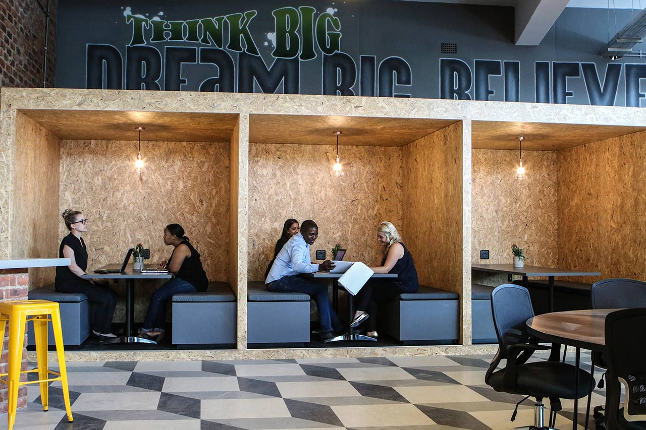 Coworking space in Johannesburg CBD, The Workspace Selby