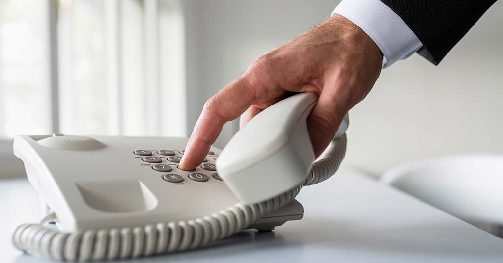 landline small business save money