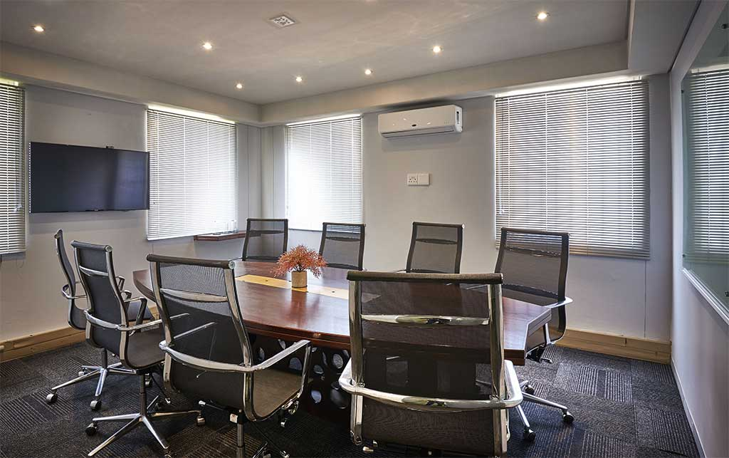 Boardroom at The Workspace Midrand
