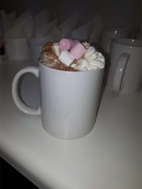 midrand networking hot chocolate winter