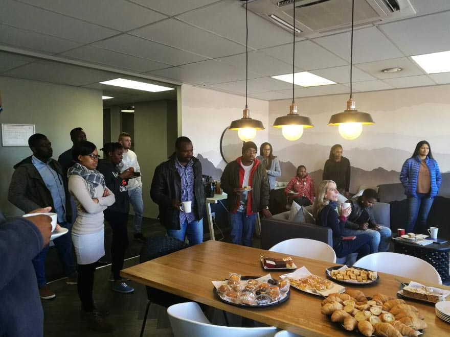 the workspace sunninghill breakfast networking event