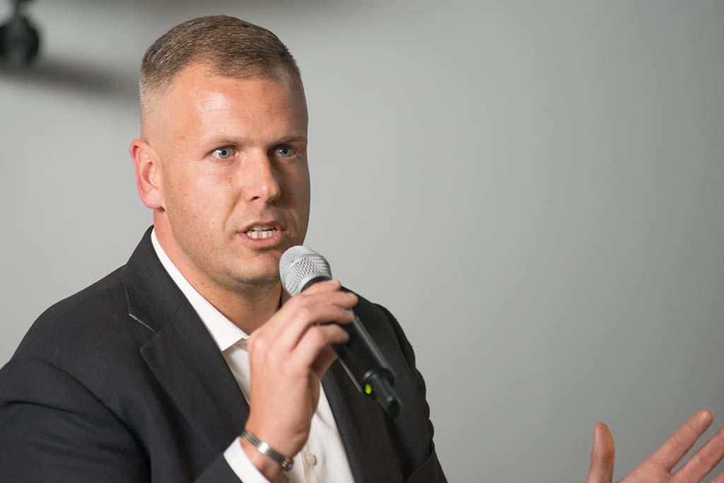 Xander van Biljon entrepreneur competition MC
