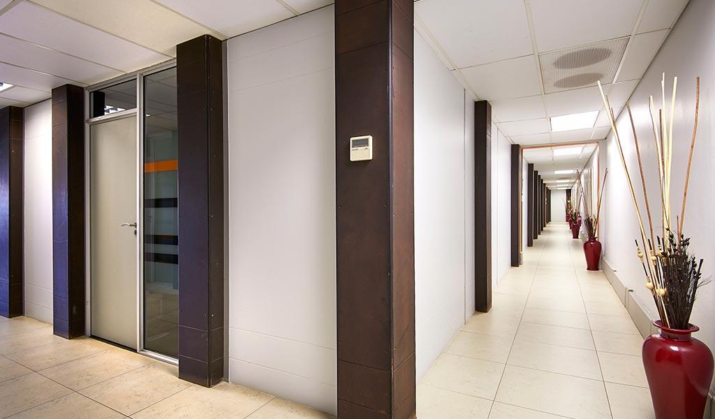 centurion coworking hallway