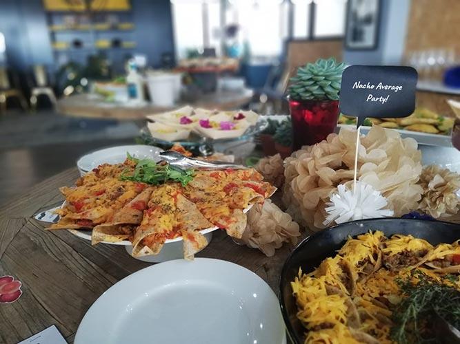 food at networking event pretoria