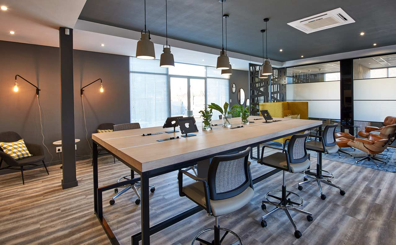 flexible office space coworking