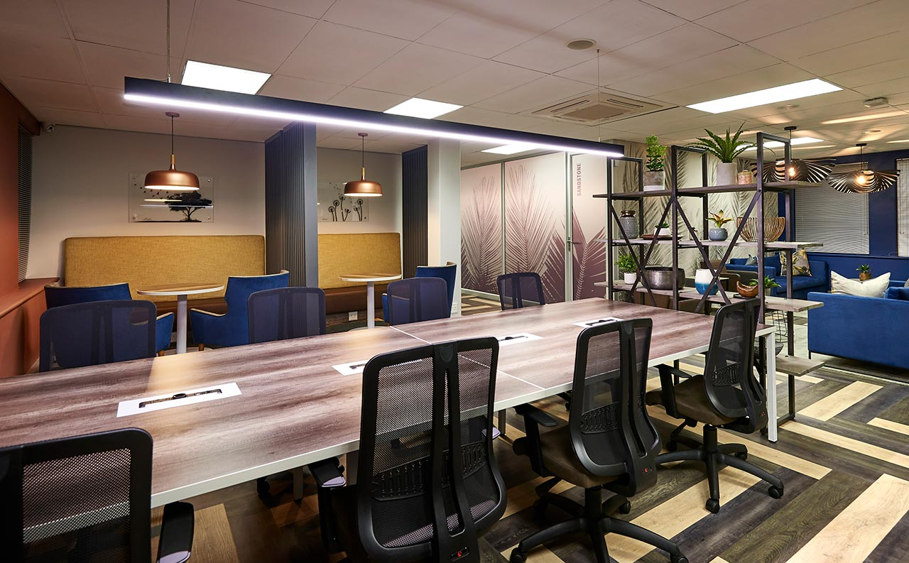 Office Space for Large Companies