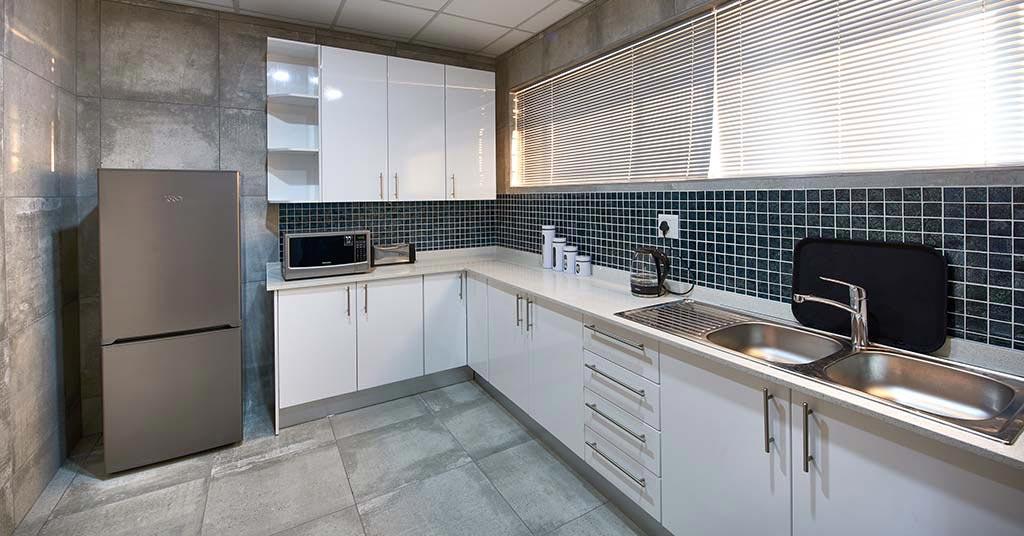 the workspace kitchen