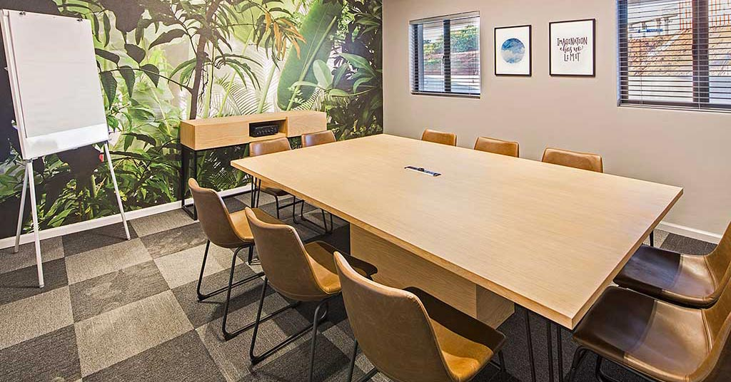 the workspace meeting room