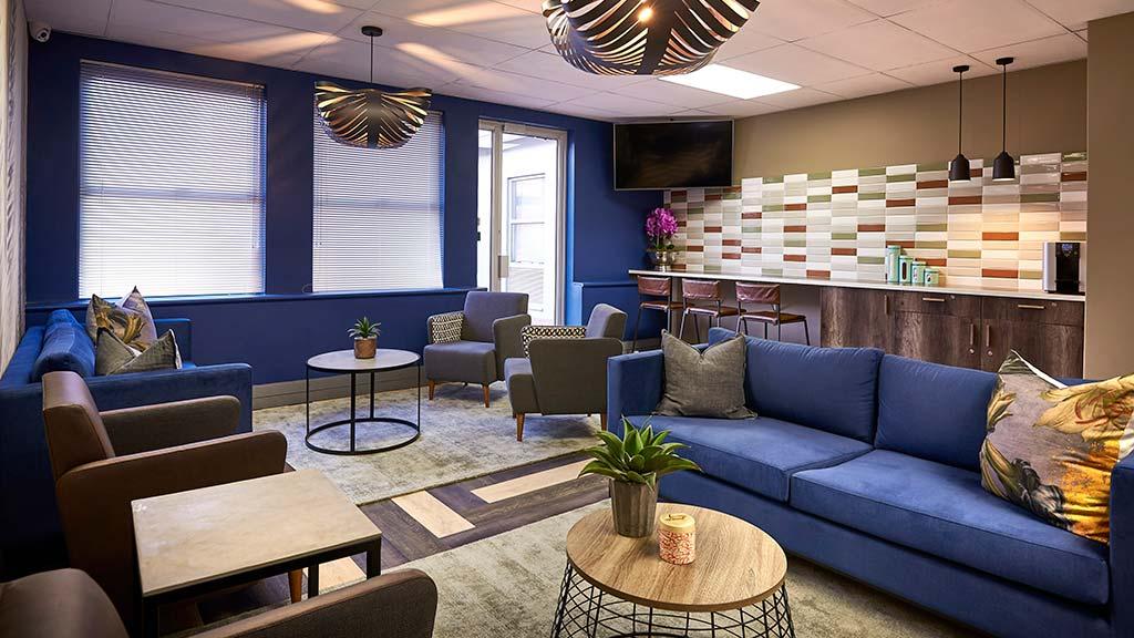 blackheath communal lounge area