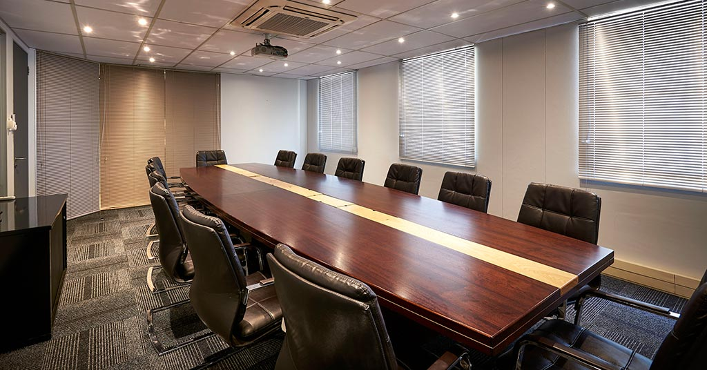 boardrooms and meeting rooms