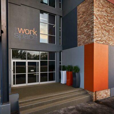 The Workspace Wynberg entrance